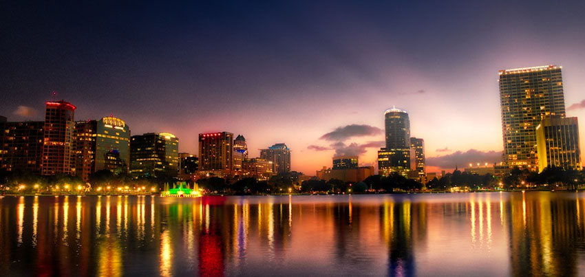 Lake Eola Night