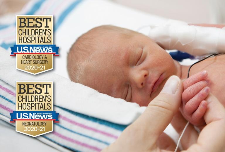 Best Children's Hospital - U.S. News & World Report - Cardiology & Heart Surgery 2020-21, Neonatology 2020-21