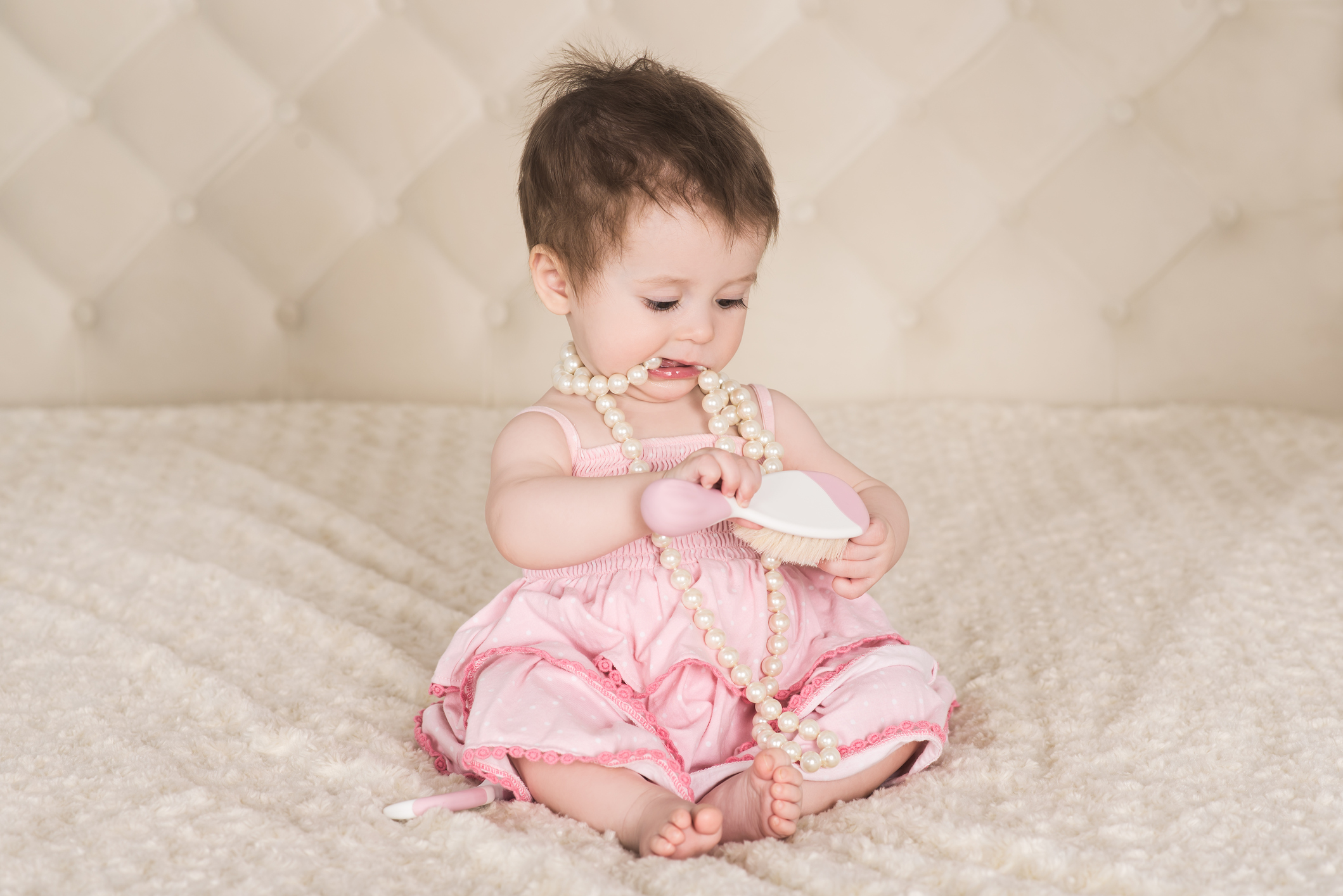Is it safe for your baby to wear jewelry?