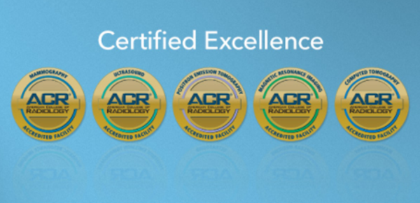Orlando Health's facilities are accredited by the American College of Radiology (ACR) for our staff qualifications, image quality, safety policies and quality assurance.