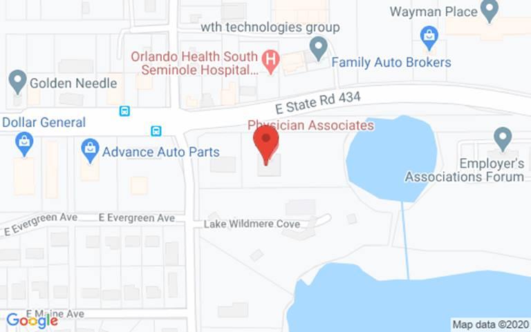 Longwood Florida Map.Primary Gynecology Care Winnie Palmer Hospital For Women Babies